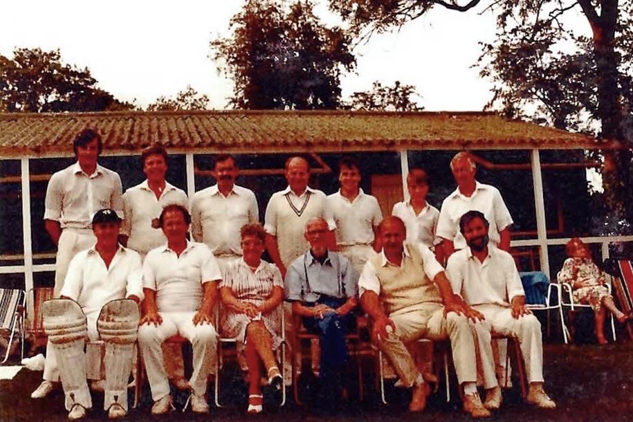 Great Missenden CC team shot 1975