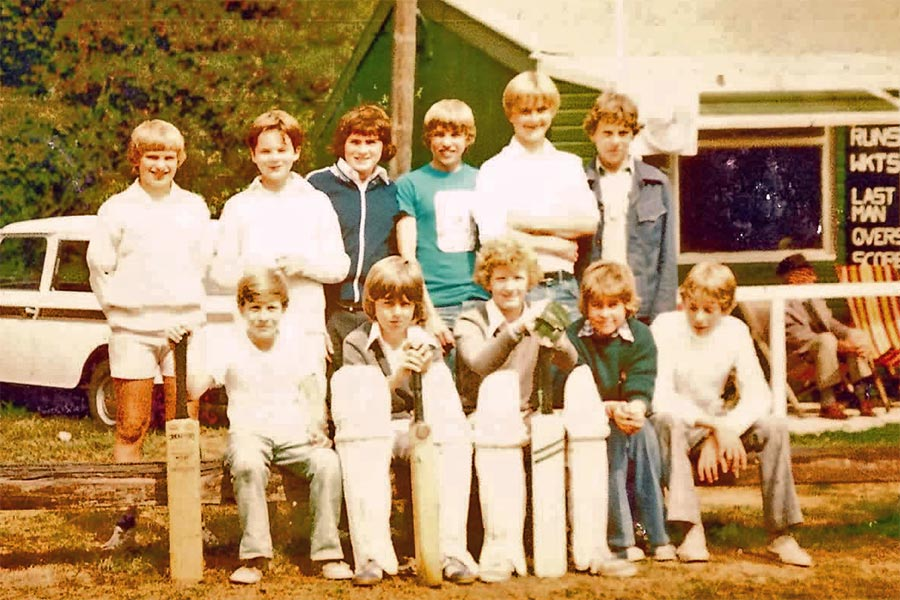 Great Missenden CC boys team mid-70's