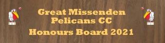 Honours board 2021